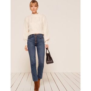 REFORMATION brand new Winona jeans 26